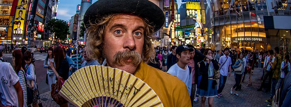 Moustache Madness: Donavon Frankenreiter Tour in Japan