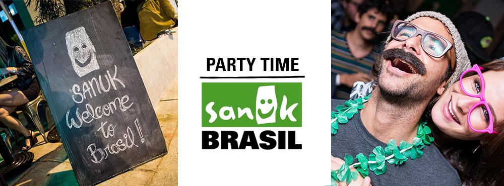 Party Time: Sanuk Gets Comfy in Brasil