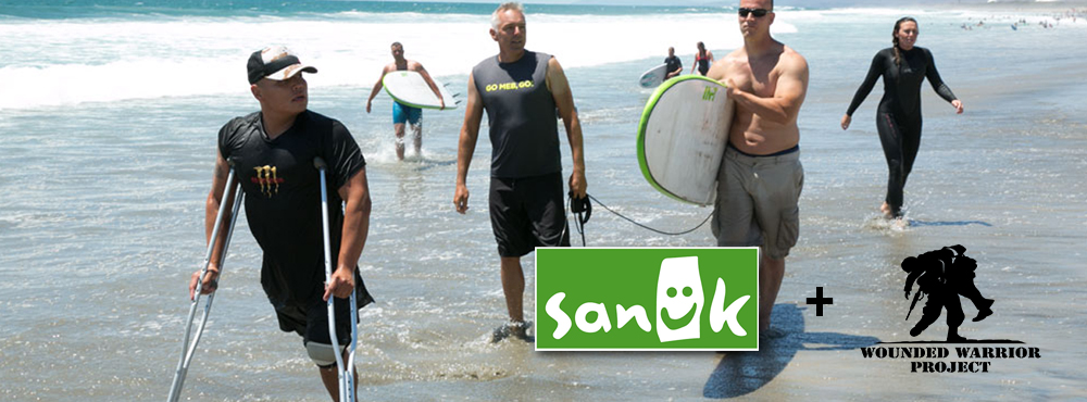Happy Veterans Day | Sanuk + Wounded Warriors | Ebb and Flow