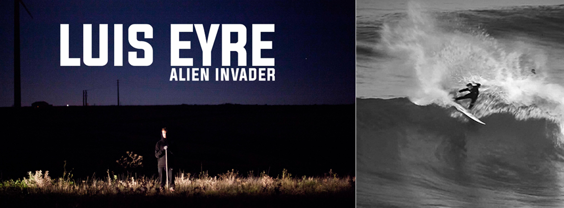 "Sanuk presents… Luis Eyre's ""Alien Invader"" – Surf Short"