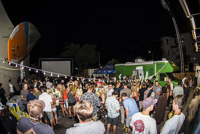 Special thanks to the Huntington Beach International Surfing Museum for takin' over their parking lot.... Party people!