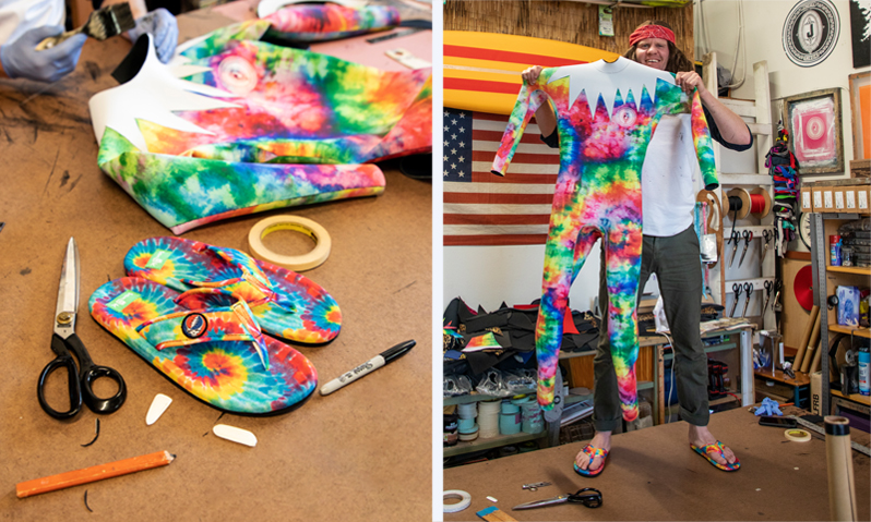 PSYCHEDELIC SHRED: Jonesea Celebrates the Grateful Dead™ with Custom Wetsuit