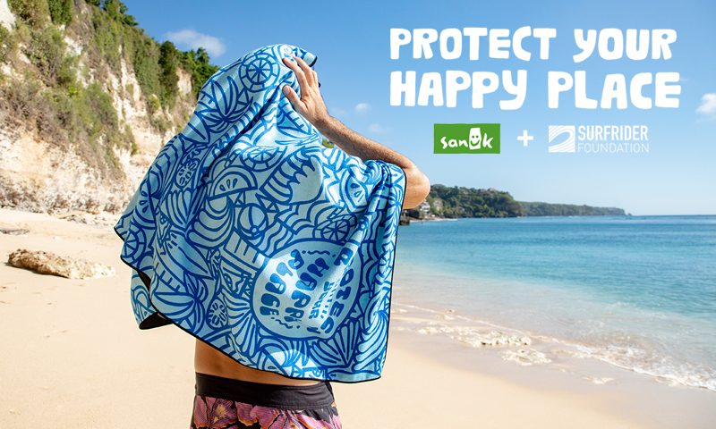 The Only Towel You Need: Sanuk Joins Forces with Surfrider Foundation & Nomadix to Protect Your Happy Place