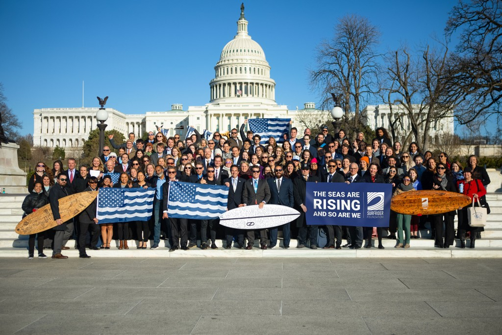 Surfrider members and partners visit Washington D.C. for Coastal Recreation Hill Day