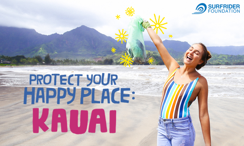 Protect Your Happy Place: Cleanin' Up Kauai with Sanuk's Kiana Fores