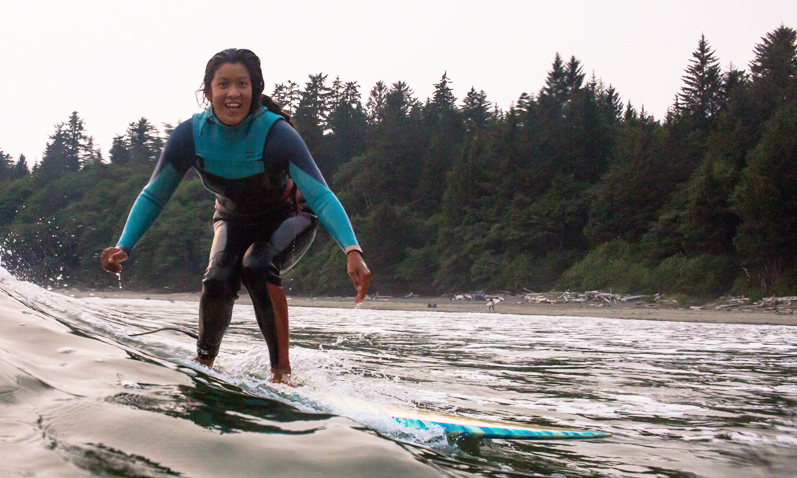 Cookin' Up Stoke: A Conversation with Canadian Surfer / Chef Sharon Wu